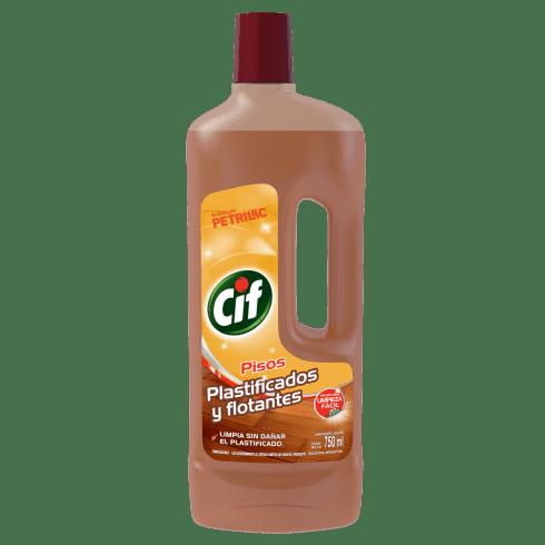 CIF Limpiador Líquido Plastificados y Flotantes